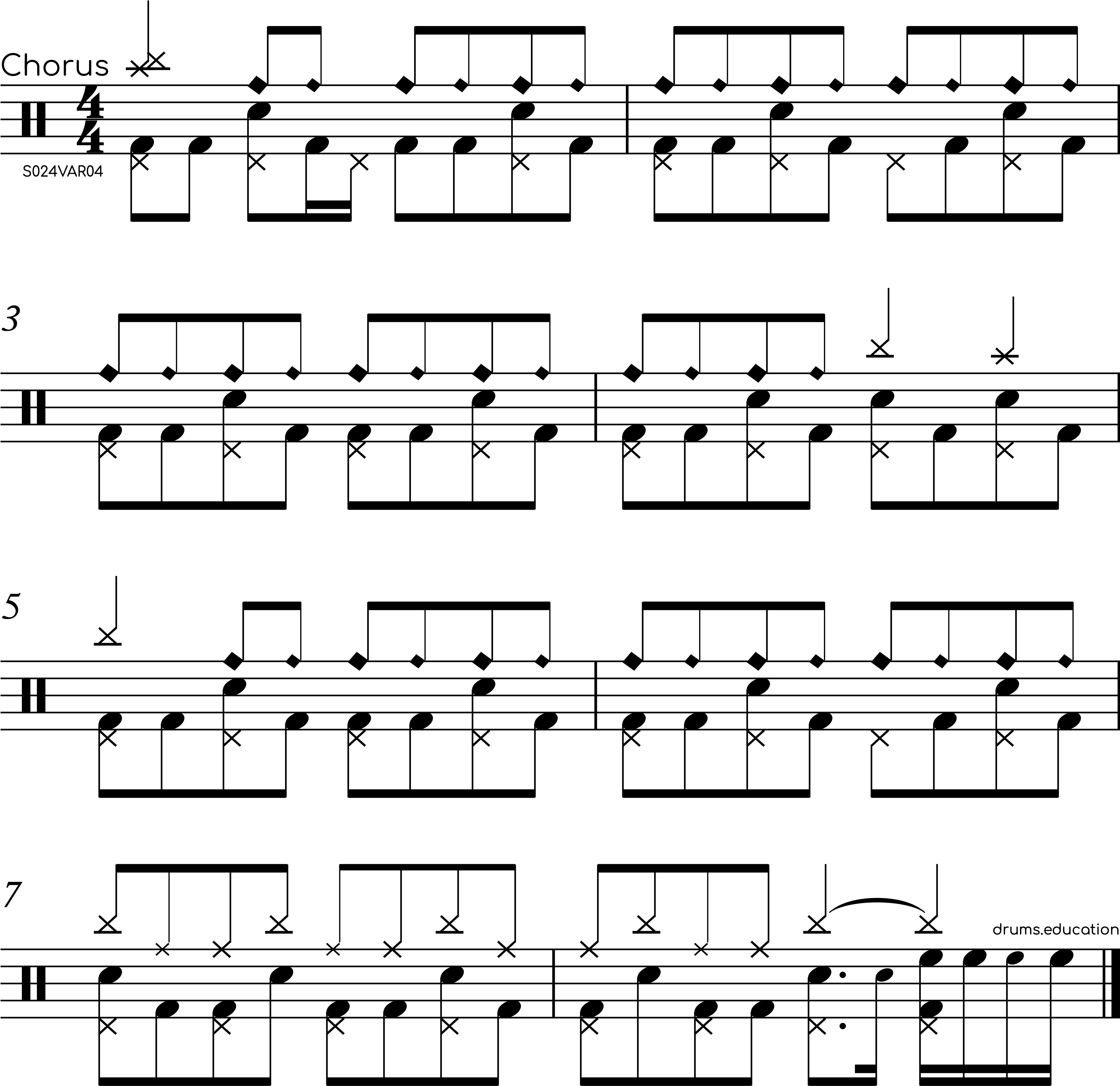 Drum Groove #42