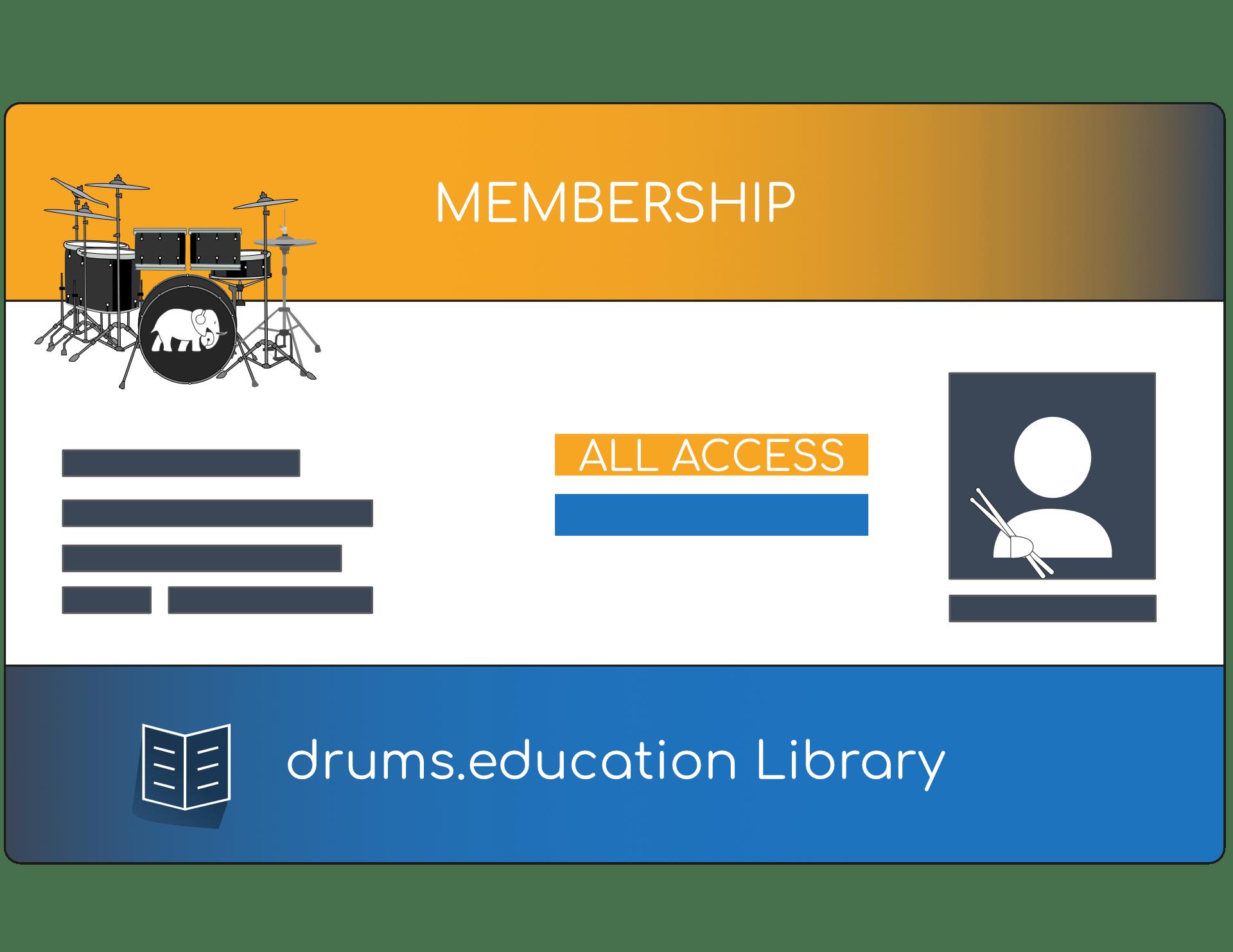 drums.education_Library Membership